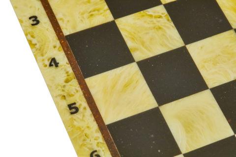 Шахматная доска малая без рамки 25*25 - Амберрегион