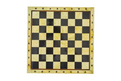Шахматная доска малая без рамки 25*25
