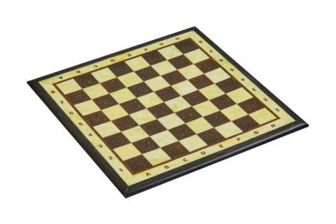 Шахматная доска малая с рамкой 25*25 -yantar09