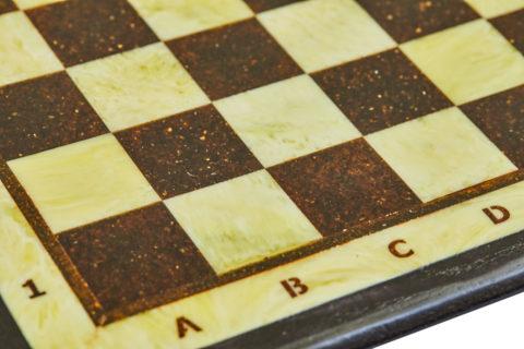 Шахматная доска малая с рамкой 25*25 - Амберрегион