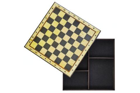 Шахматная коробка средняя 35*35 - Амберрегион