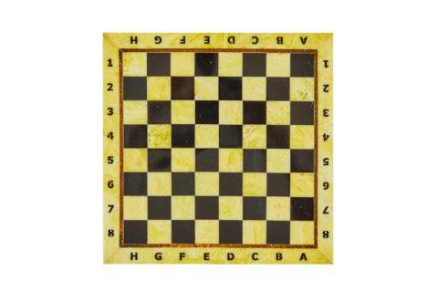 Шахматная коробка с доской малая 25*25