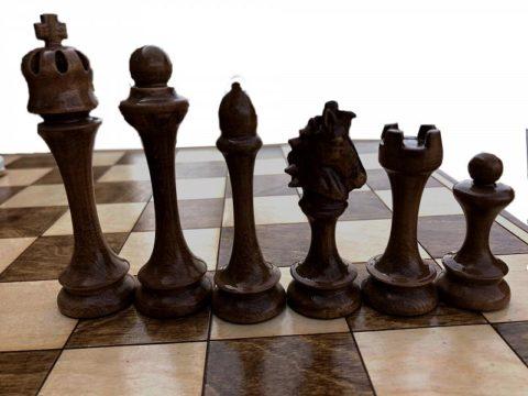 """Шахматные фигуры """"Капабланка-1"""""""