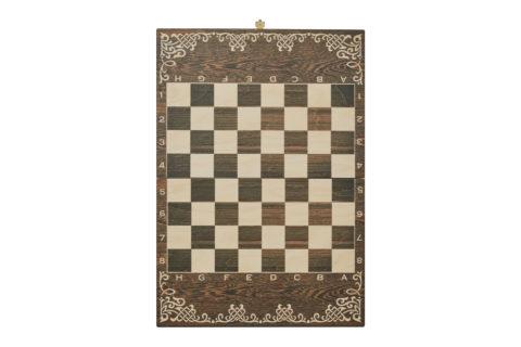 """Шахматы малые """"Галлы-Римляне"""" чернение -RTS-72.Z"""