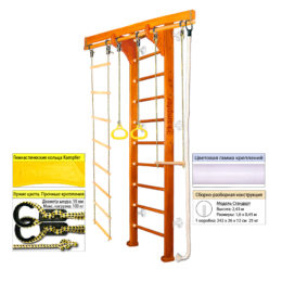 Шведская стенка Kampfer Wooden Ladder Wall (№3 Классический