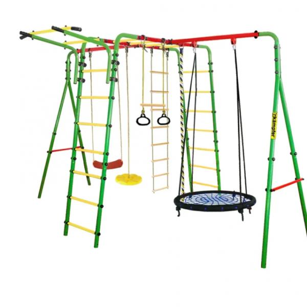 Уличный-детский-спортивный-комплекс-Kampfer-Wunder-Гнездо-100-см-синее.