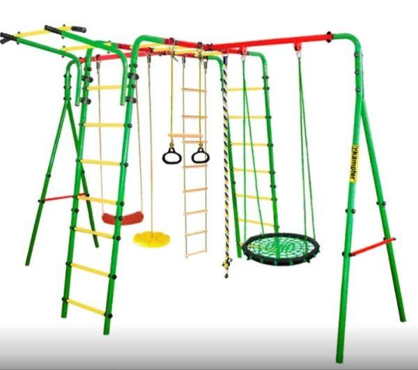 Уличный-детский-спортивный-комплекс-Kampfer-Wunder-качели-гнездо-60-см-цвета