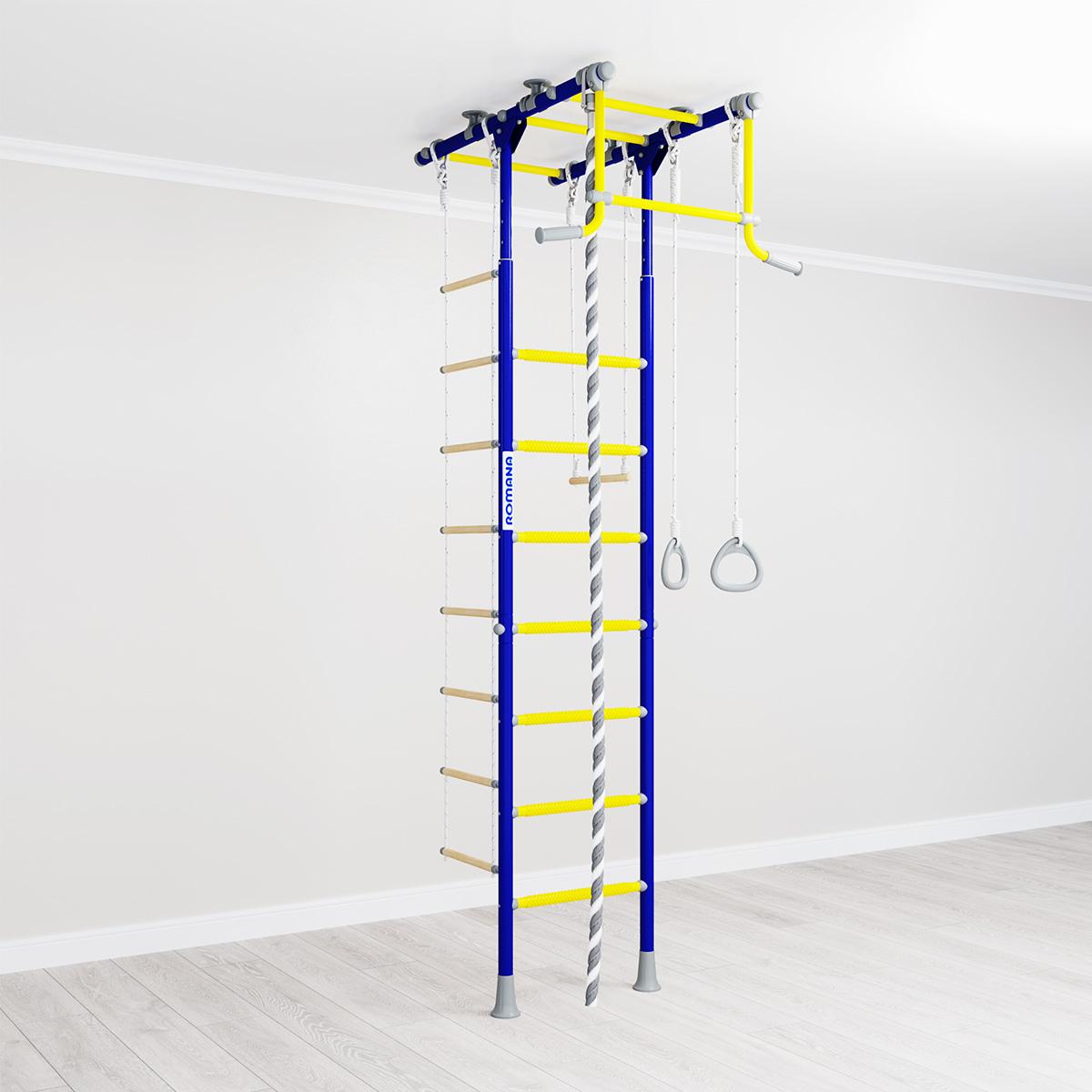 Romana R1 синяя слива - шведская стенка