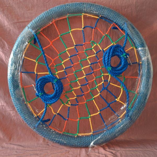 Круглые качели гнездо для детей и взрослых размер качелей 120 см