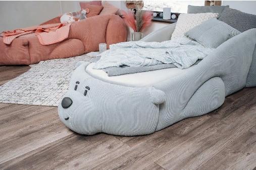 Кровать-Romack-Sonya-Мишка-Junior-Мятный