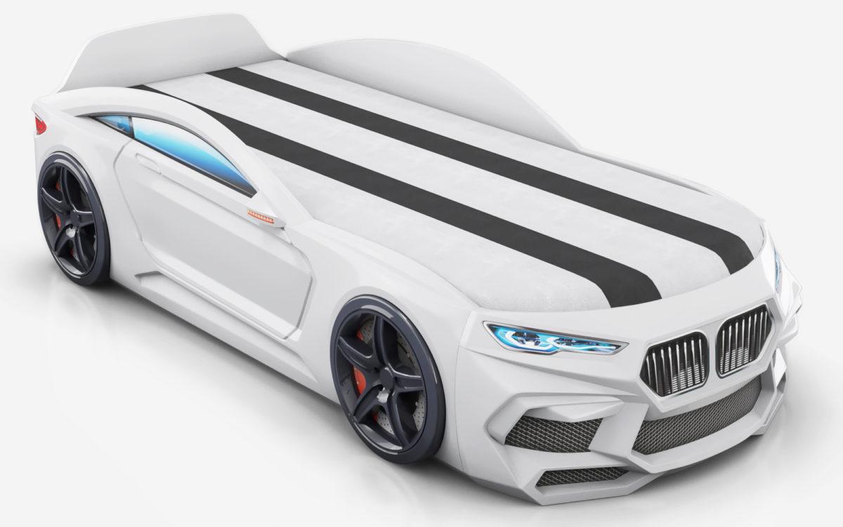 Детская кровать машина Romack Romeo-M